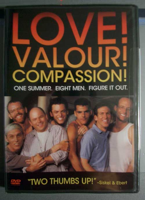 Love! Valour! Compassion! ジャケット表